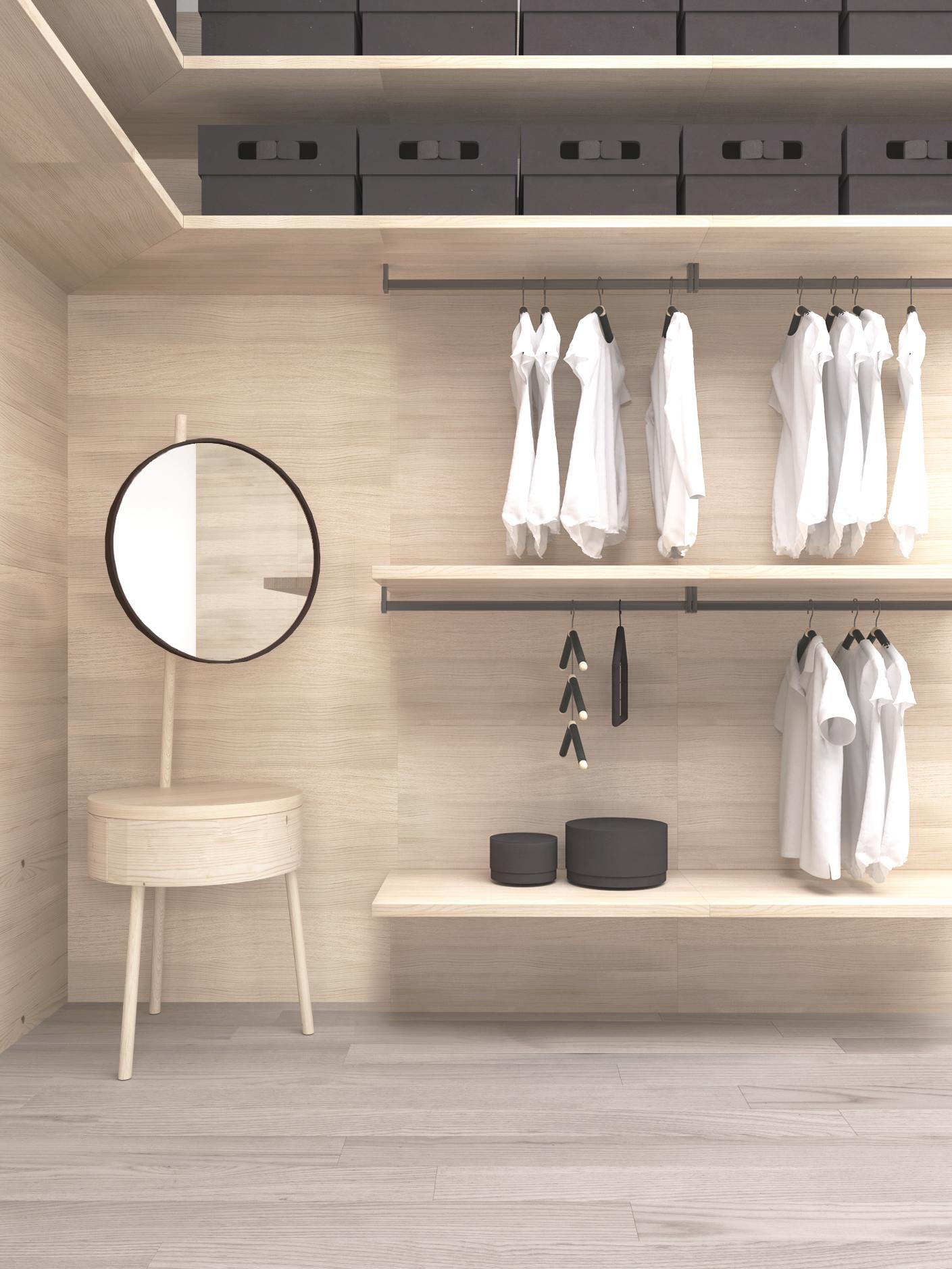 L a c cabina armadio e accessori madema - Accessori cabina armadio ...