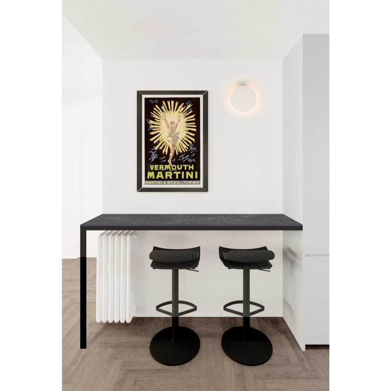Progettazione d'interni appartamento Udine MAdeMA studio